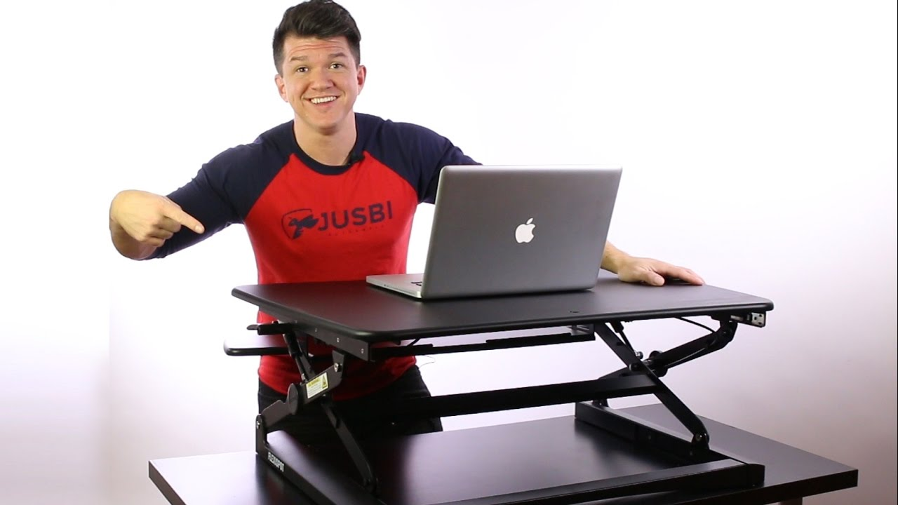 Flexispot Sit Stand Desk Riser Unboxing And Review Youtube