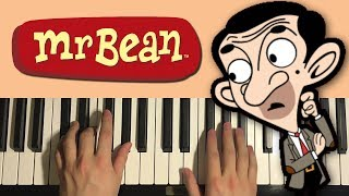 Baixar HOW TO PLAY - Mr. Bean Animated Series - Theme Song (Piano Tutorial Lesson)