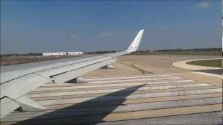 American Airlines Boeing 757 MCO-MIA Part 3 of 9, Taxi and Powerful takeoff in Full HD!