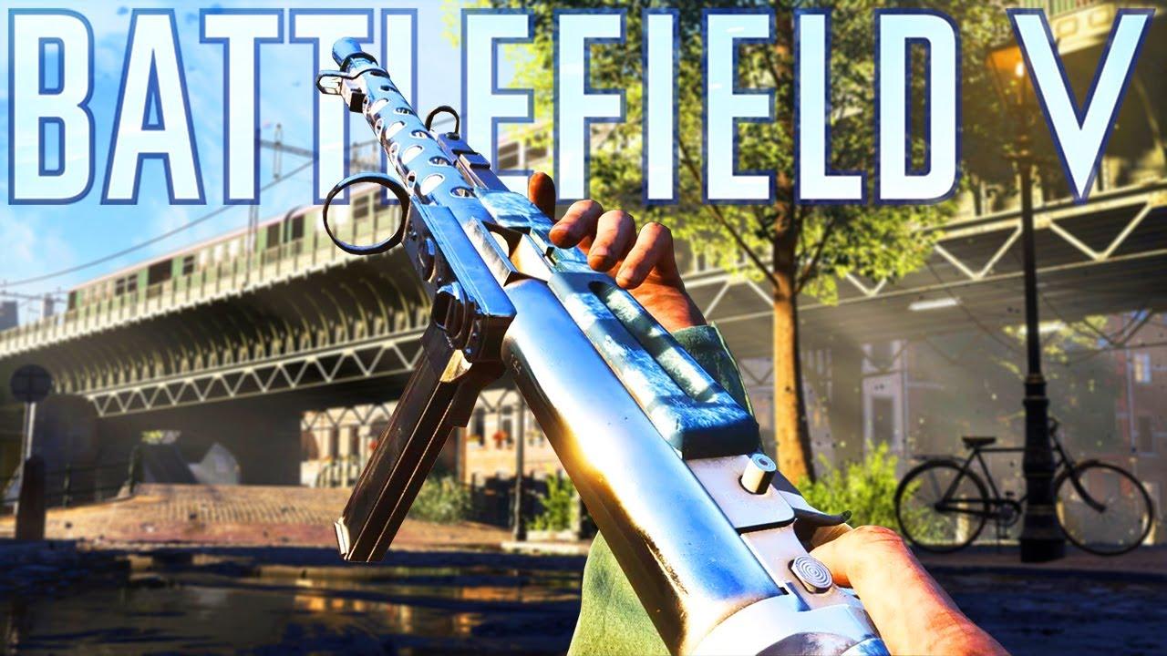ZK 383 The BEST Weapon in Battlefield 5