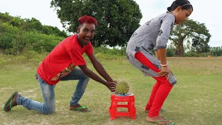 Must Watch New Funny Video😂😂Top New Comedy Video 2019   Try To Not Laugh   By My Family