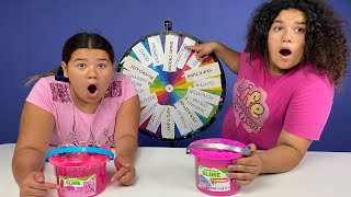 FIX THIS STORE BOUGHT SLIME CHALLENGE!! MYSTERY WHEEL EDITION!!