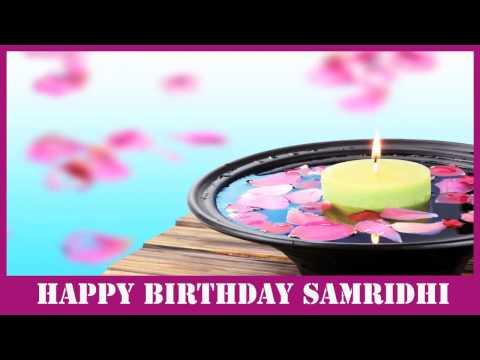Samridhi   Birthday Spa - Happy Birthday