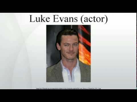 Luke Evans (actor)