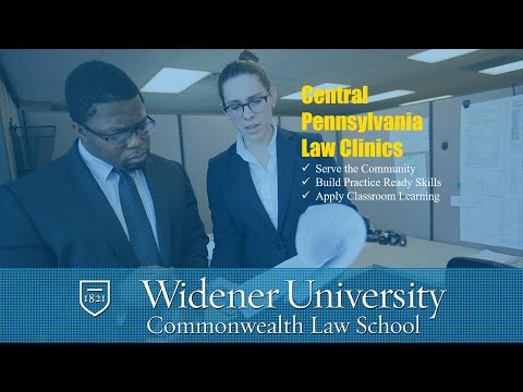 Central Pennsylvania Law Clinics | Widener Law Commonwealth in Harrisburg, PA