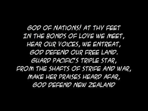 NZ NATIONAL ANTHEM LYRICS EPUB