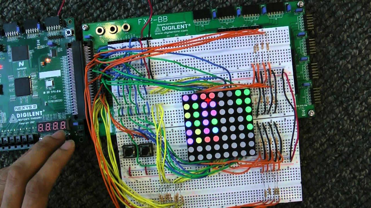 FPGATV: VHDL with Xilinx - LED Blink Tutorial