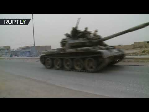 Syrian forces begin advance towards Iraqi border