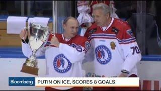Vladimir Putin Ices Opponents With 8 Goals