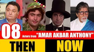 """8 Bollywood Actors from """"AMAR AKBAR ANTHONY"""" 1977 