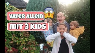 Vater alleine mit 3 Kindern - Haushalt - Einkaufen - Kochen - Vlog#1037 Rosislife