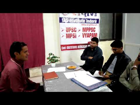 MPSI INTERVIEW MOCK TEST 2018 PART 5 by सक्षम IAS INSTITUTE INDORE