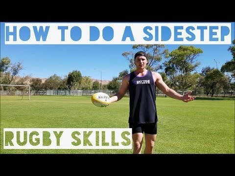 RUGBY SKILLS TUTORIAL   HOW TO A SIDESTEP 2