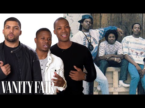 "Becoming Dr Dre, Ice Cube, and Eazy-E in ""Straight Outta Compton"""