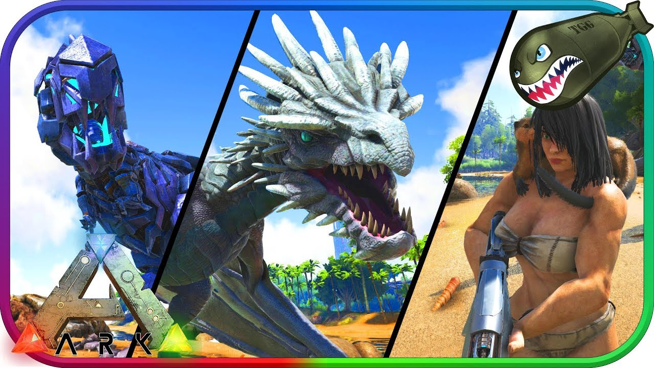 Ark: Survival Evolved | New Otter, Ice Wyvern Update FULL RELEASE! (Ark  News & Updates)