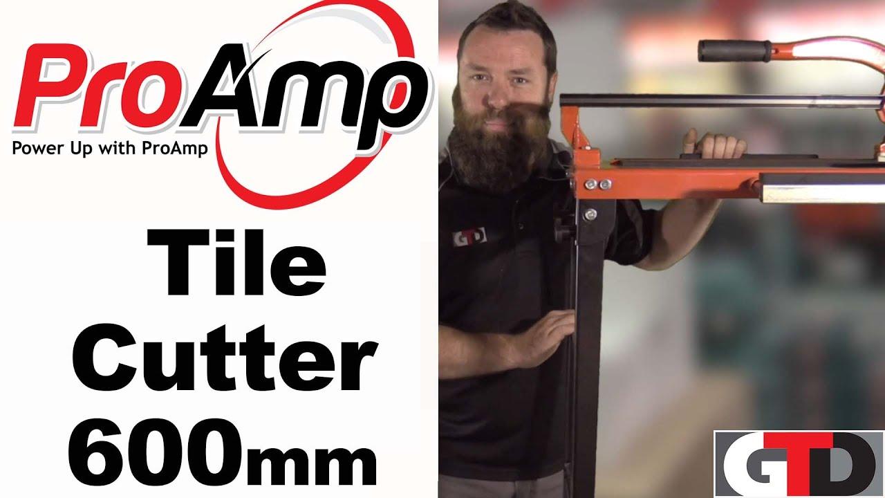 Pro Amp 8102e Professional Tile Cutter