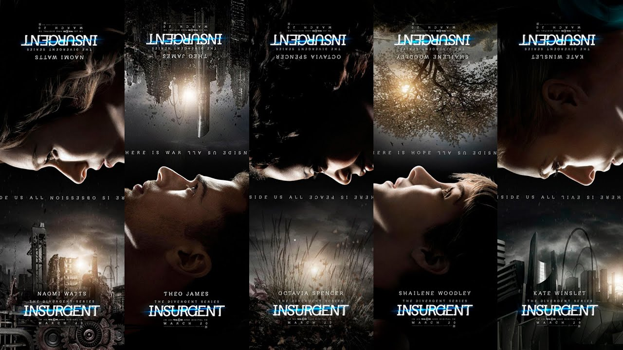 the divergent series insurgent motion posters youtube