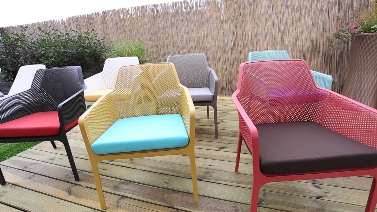 Net Relax Nardi. Garden furniture - Net Relax Nardi - YouTube