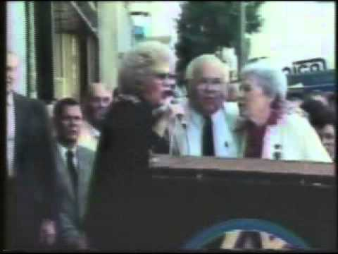 Patty Andrews Receives Her Star on Hollywood Blvd