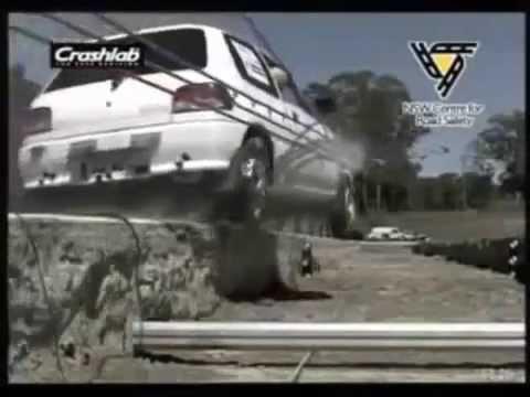 Краш тесты тросового дорожного ограждения различных конструкций
