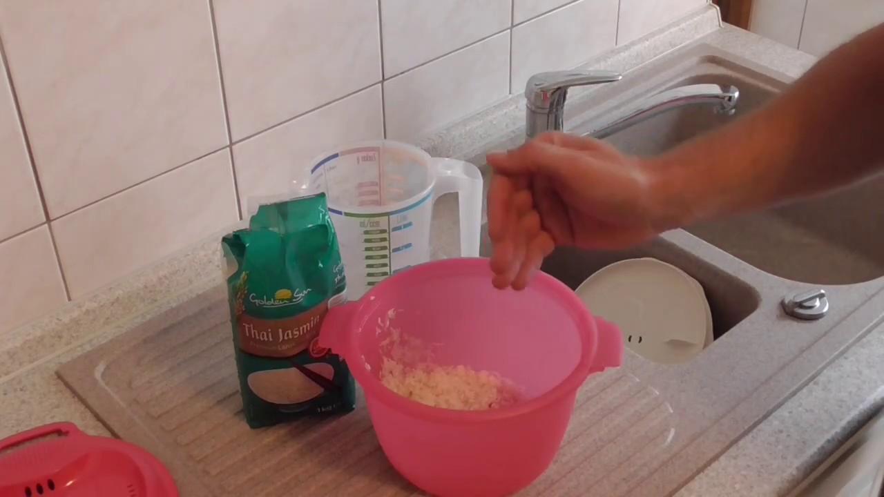 Mikrowellen reiskocher einfach reis kochen in der - Reis in der mikrowelle kochen ...