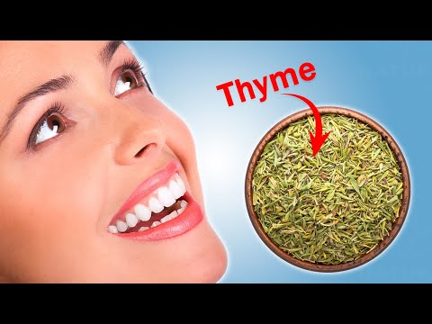 Treat Your Gum and Teeth Problems For Free Using Thyme