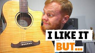 Fender FA-345CE Auditorium Review || Great Acoustic Guitar Under 400$!!