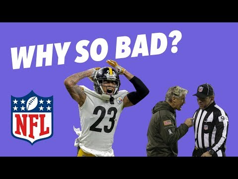 Why has NFL REFFING gotten SO BAD this SEASON?