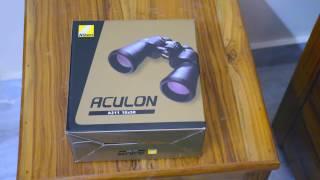 Nikon Aculon 10x50 A211 Binoculars Unboxing