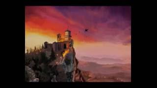 iPad Pro + iPad Pencil_Painting San Marino Castle using Procreate App
