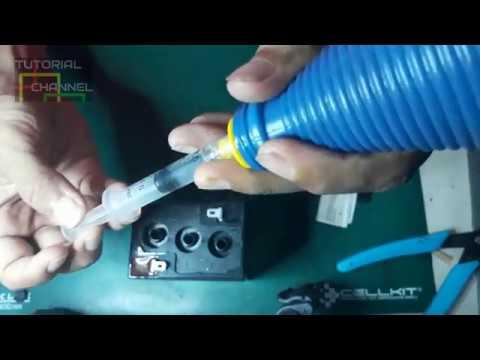How To Repair Battery Cara Mudah Perbaiki Aki Kering Baterai Yang