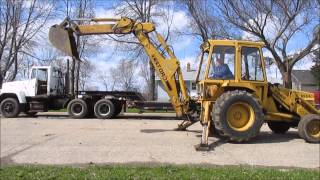 1985 Ford 655A backhoe for sale | sold at auction June 12, 2014