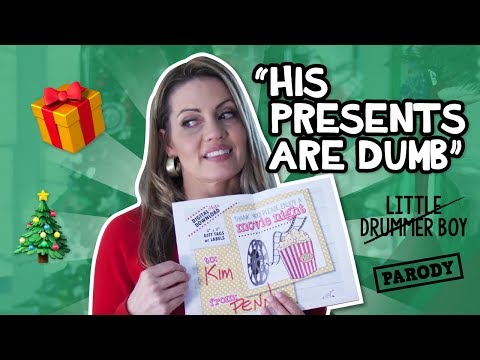 """HIS PRESENTS ARE DUMB"" Little Drummer Boy A Capella Parody // The Holderness Family"
