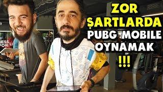 ZOR ŞARTLARDA PUBG MOBILE OYNAMAK !! w/ Egoist Pati