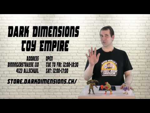 Great Toy shop in Basel! Welcome to the Dark Dimensions Toy Empire!