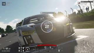 GT Sport Beta: Audi R8 LMS Brands Hatch Gameplay!