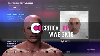 How to upload your face into WWE 2K18
