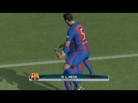 PES 2017 Goal Foul Messi