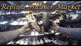 Replica Sneaker Market Early Jordan And Yeezy