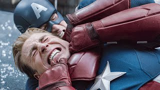 Cap vs Captain America Fight Scene - AVENGERS 4: E...