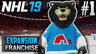NHL 19 Expansion Franchise | Quebec Nordiques | EP1 | QUEBEC IS BACK IN ACTION