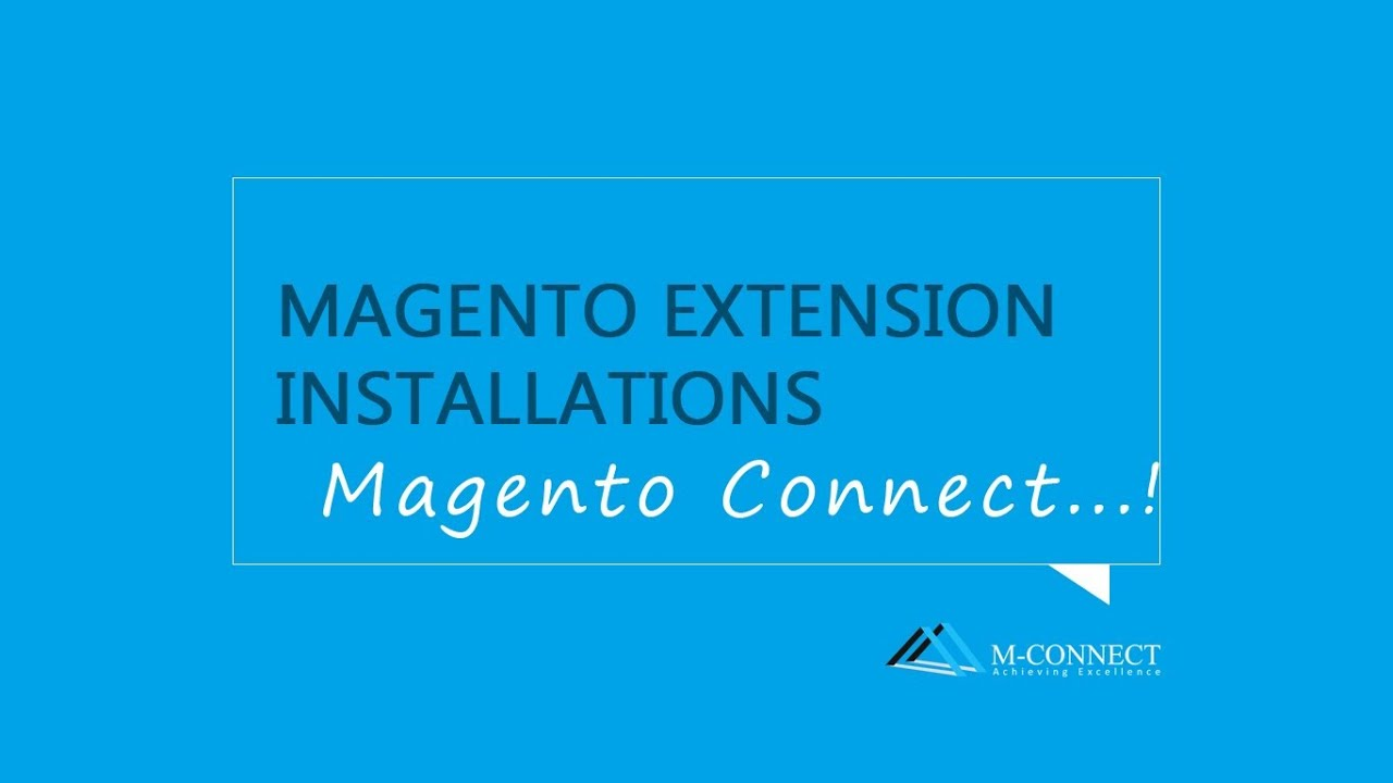Free banner extension in magento - How To Install Free Extension Using Magento Connect By M Connect Media