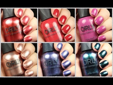 Orly Deep Wonder Collection | Live Application Review