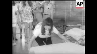Bed Making Competition - Sydney - 1973