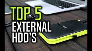 Best External Hard Drives in 2018 - Which Is The Best External HDD?
