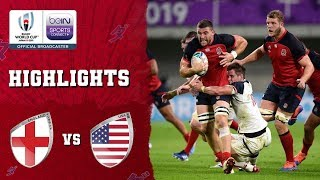 England 45-7 USA | Rugby World Cup 2019 Match Highlights