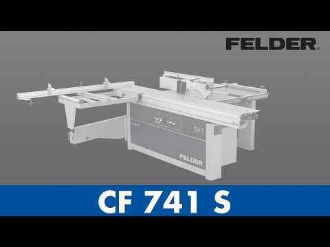 FELDER® - CF 741 S - Der Alleskönner