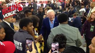 JERRY JONES Exits The Star After ERROL SPENCE Puts on a SHOW!