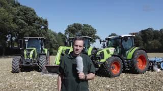 3x Claas Arion mit 145 PS im top agrar Systemvergleich