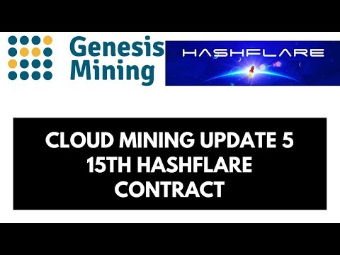 Cloud Mining Update 5 - 15TH Hashflare Contract